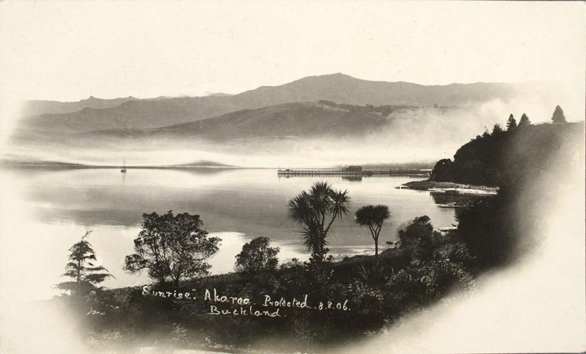 Sunrise, Akaroa